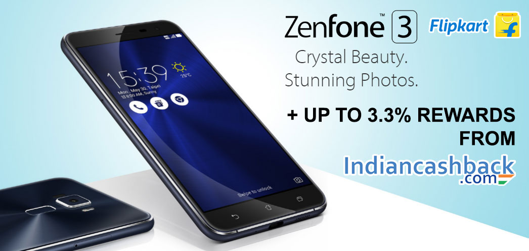 Zenfone 3 coupons-cashback-offers-deals